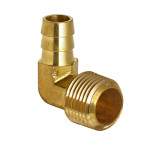 Brass Elbow Hose Barb