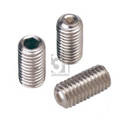 Brass Allen Key Grub Screws