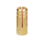 Brass Anchors Knurled