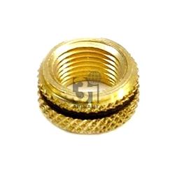 Brass Diamond Knurled Inserts