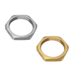 Brass-Lock-Nuts-for-Cable-Gland