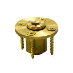 Brass Wood Deck Anchor