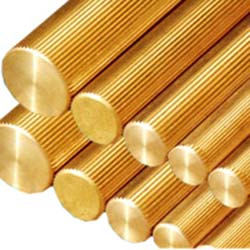 Knurling Extrusion Brass Rods Manufacturers and Exporters