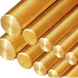 Knurling Extrusion Brass Rods