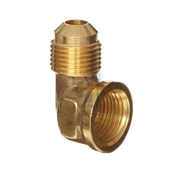 brass flare to fips 90 degree fitting