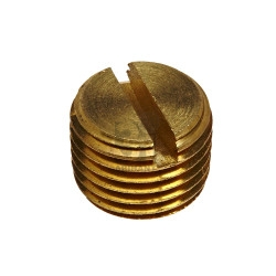 brass-plug-slotted