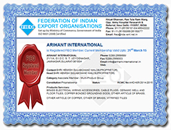 Certification of Federation of Indian Export Organisations